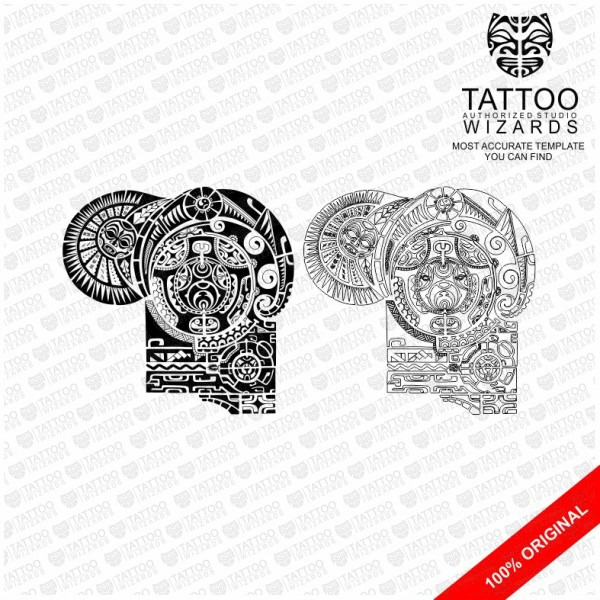 the rock tattoo template tattoo wizards