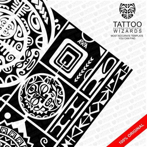 Maori Transcendental Magic Tattoo Template Tattoo Wizards