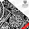 Maori Hero Warrior Tattoo big elements