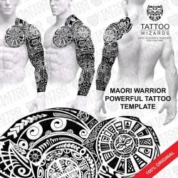 Maori Warrior Powerful Tattoo