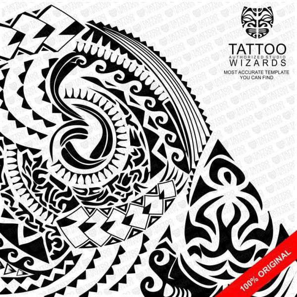 Samoan Warrior Shark Tattoo