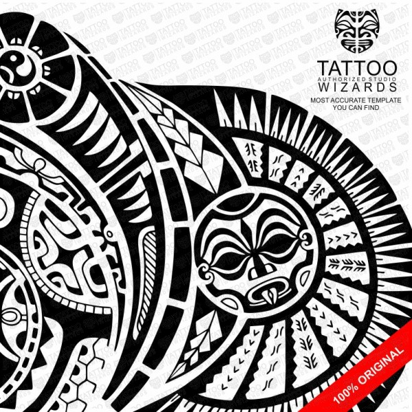 The Rock Vector Tattoo Template Stencil - Tattoo Wizards